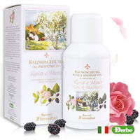 ~Derbe佛羅倫斯~玫瑰黑莓沐浴凝膠250ML ^#40 義大利  ^#41