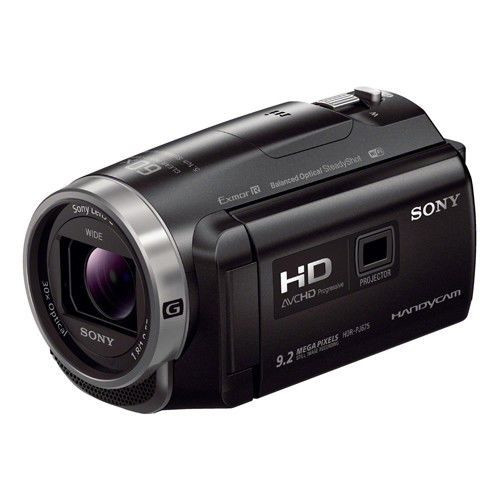 【64G+電池組】SONY HDR-PJ675 高畫質可投影數位攝影機 (公司貨)