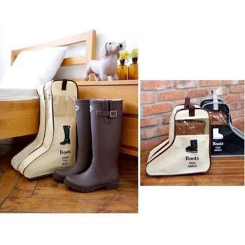 [fun bag]長靴收納鞋袋 旅行收納包 袋 手提式 防塵袋 防塵套 靴子收納