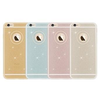 iPhone 6/6s 粉閃 閃亮 軟殼 TPU 全覆蓋保護殼 手機保護套 保護框 背殼