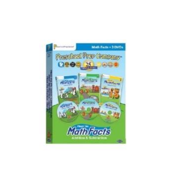 【美國PreSchool Prep 】Math Facts 3 DVD (數學 DVD 3片組)