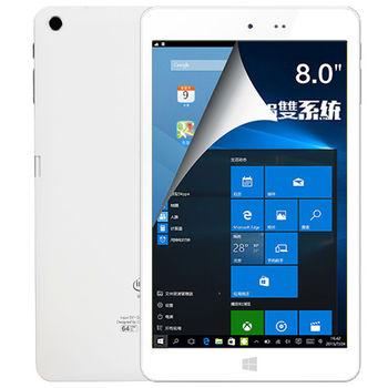 【iPlug Hi8】8吋Intel四核心Windows-10+Android雙系統FHD平板電腦