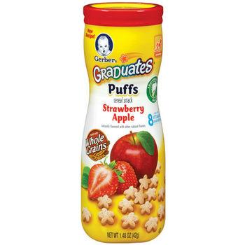 嘉寶Gerber 星星餅乾-草莓蘋果(42gx6入)