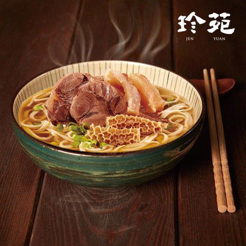 【珍苑】頂級澳洲清燉牛筋牛肚牛肉麵-6組裝