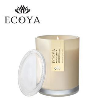 【澳洲ECOYA】水晶香氛蠟燭-香莢蘭荳 270g