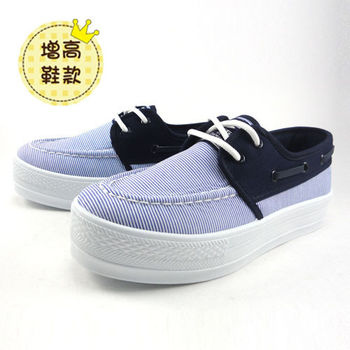 [T-EGO]粉彩美跡厚底休閒鞋-MIO7607