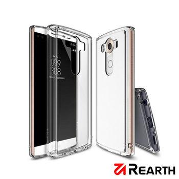 Rearth LG V10 (Ringke Fusion) 高質感透明保護殼(贈送保護貼)
