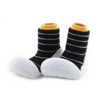 Attipas襪型學步鞋[真品平輸]-香蕉布朗尼