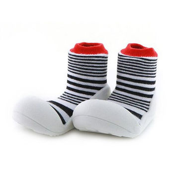 Attipas襪型學步鞋[真品平輸]-櫻桃千層派