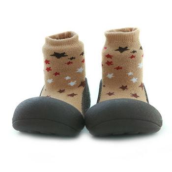 Attipas襪型學步鞋[真品平輸]-拿鐵星空
