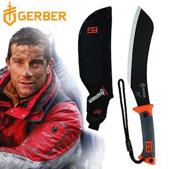 Gerber 貝爾求生系列橡膠柄砍刀 (泡殼) 31-002072