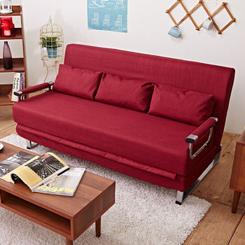 【IDeng】璀璨五星 三人座多功能沙發床