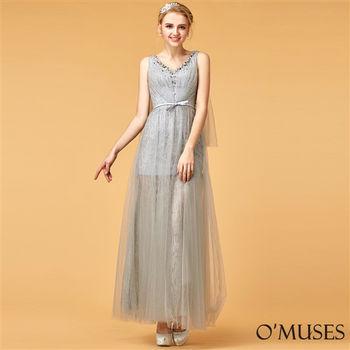 【OMUSES】希臘女神婚紗長禮服19-8612(S-3L)