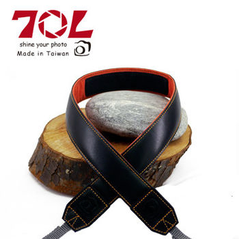 70L SL3501 COLOR STRAP 真皮彩色相機背帶(尊爵黑金)