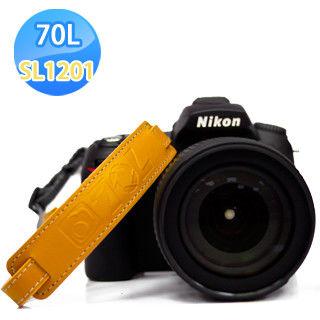 70L SWL1201 COLOR WRIST STRAP 真皮彩色相機手腕帶(卡其沙漠)