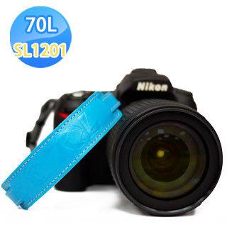 70L SWL1201 COLOR WRIST STRAP 真皮彩色相機手腕帶(天空藍)