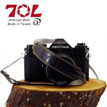 70L SWL1216 COLOR STRAP 真皮彩色相機背帶(尊爵黑金)