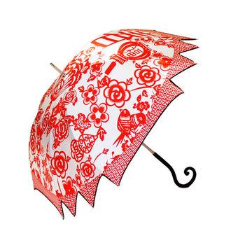 【雨傘詩人POET OF UMBRELLA】MAPLE UMBRELLA-CHINESE NEW YEAR 春如福臨楓葉傘