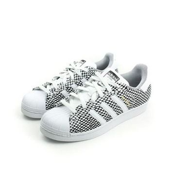 adidas SUPERSTAR SNAKE 休閒鞋 白 童 no141
