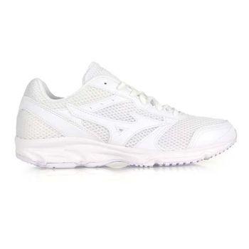 【MIZUNO】MAXIMIZER 18 男女慢跑鞋- 路跑 美津濃 白