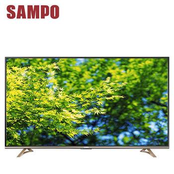 【SAMPO聲寶】 50吋 4K UHD Smart LED液晶顯示器+視訊盒(EM-50JT16D)