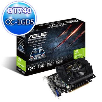 【ASUS 華碩】GT740-OC-1GD5 顯示卡