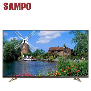 【SAMPO聲寶】 55吋 4K UHD Smart LED液晶顯示器+視訊盒(EM-55JT16D)