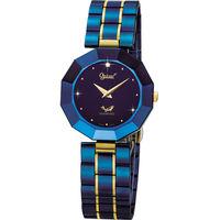 Ogival 瑞士愛其華 ^#45 陶瓷系列 紳藍爵士陶瓷雅痞真鑽腕錶321 ^#45 2