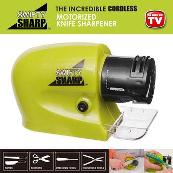 《創意生活家》多功能電動磨刀器-美國TV購物熱銷品