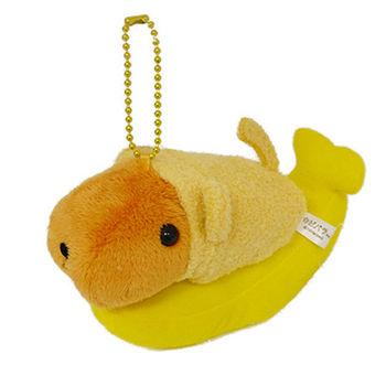 Kapibarasan 水豚君猴年變裝公仔吊飾 香蕉水豚君