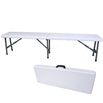 【頂堅】寬183公分(厚度4.5公分)對疊折疊椅/休閒椅/野餐椅/戶外椅/長椅/摺疊椅