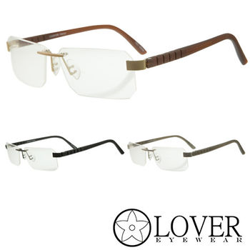 【Lover】精品無框光學眼鏡(L-8164 三色選擇)