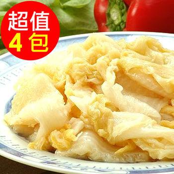 【金門老農莊】酸白菜(600g)X4