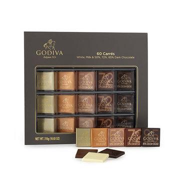 【GODIVA】經典巧克力60片情人節禮盒(盒裝) (310g/盒)