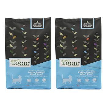 【Natures Logic】自然邏輯 低敏天然糧 全貓沙丁魚配方 15.4磅 X 2包