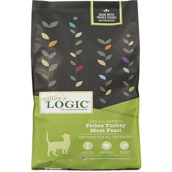 【Natures Logic】自然邏輯 低敏天然糧 全貓火雞肉配方 3.3磅 X 1包