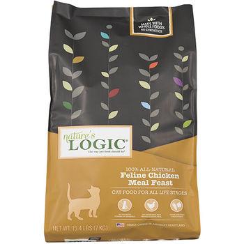 【Natures Logic】自然邏輯 低敏天然糧 全貓雞肉配方 15.4磅 X 1包