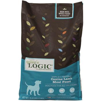 【Natures Logic】自然邏輯 低敏天然糧 全犬羊肉配方 26.4磅 X 1包