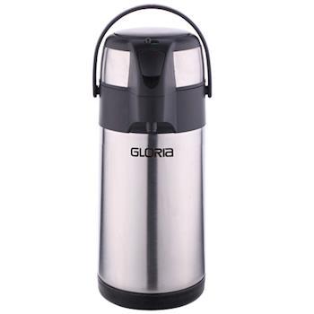 【GLORIA】 不鏽鋼氣壓式真空保溫保冷瓶(3L) GLA-300