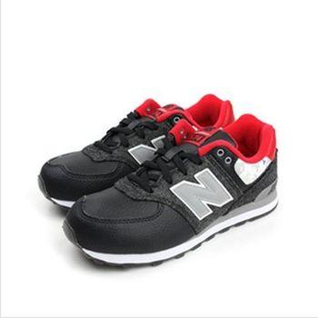 New Balance 574系列 運動鞋 黑 大童 no863
