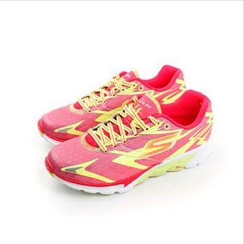 SKECHERS GO RUN 4 跑鞋 紅 女款 no265