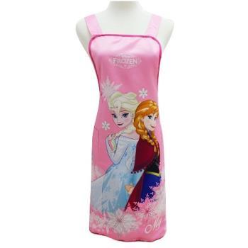 Disney冰雪奇緣圍裙FZ0008B粉紅