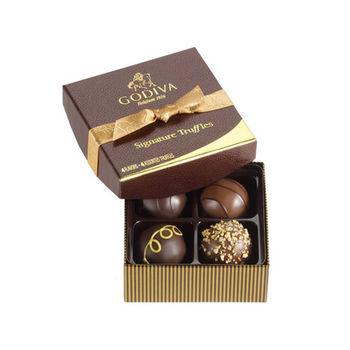 【GODIVA】松露巧克力4入組禮盒