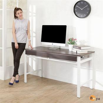 BuyJM 尼可防潑水140公分雙抽書桌/電腦桌(2色)