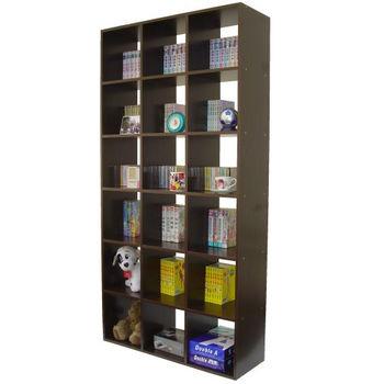 【Dr. DIY】18格(無背板)書櫃/收納櫃/置物櫃(二色可選)