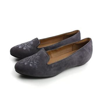 Clarks Alitay Kallen 平底鞋 灰 女款 no719