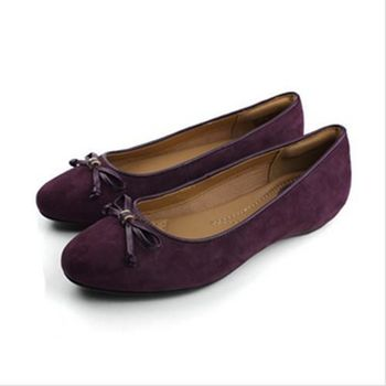 Clarks Alitay Giana 平底鞋 紫 女款 no717
