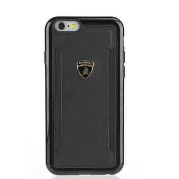 藍寶堅尼 iPhone 6/6S+(5.5吋) Huracan-D5真皮背蓋(黑)