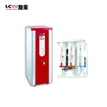 【LCW 龍泉】數位單熱桌上型開水機+殺菌型逆滲透純水機 (LC-036A+LC-R-107)