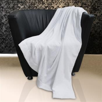 【法式寢飾花季】純品良織-頂級SPA專用舒柔毛巾被(37兩重)